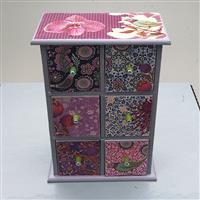 Minikommode lila